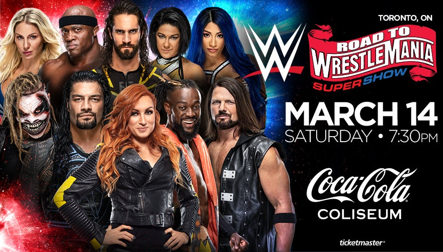 More Info for WWE Live